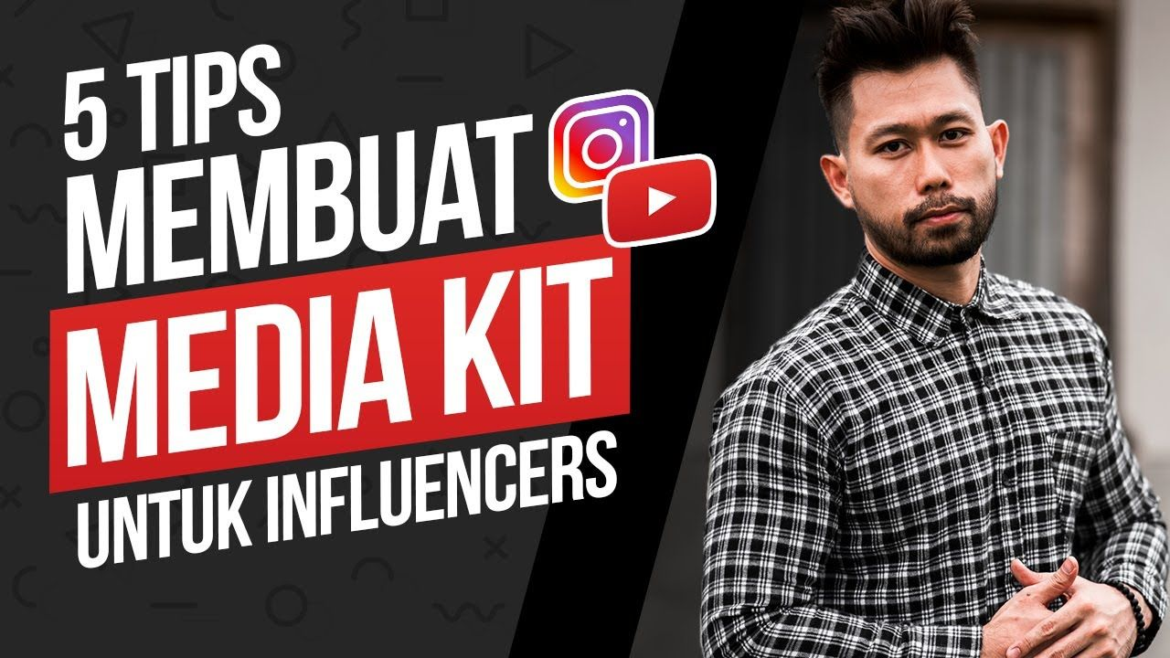 5 Tips Cara Membuat Rate Card Atau Media Kit Untuk Influencers Youtubers Youtube Tips Video