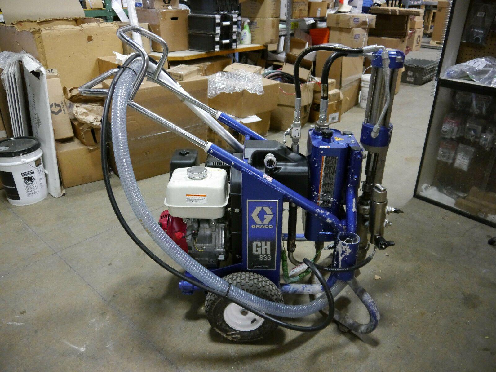 Graco Gh 833 Gas Hydraulic Sprayer Bare 249318 Pull Start Gh833 B Condition 5849 00 Graco Ideas Of Graco Graco In 2020 Graco Sprayers Hydraulic