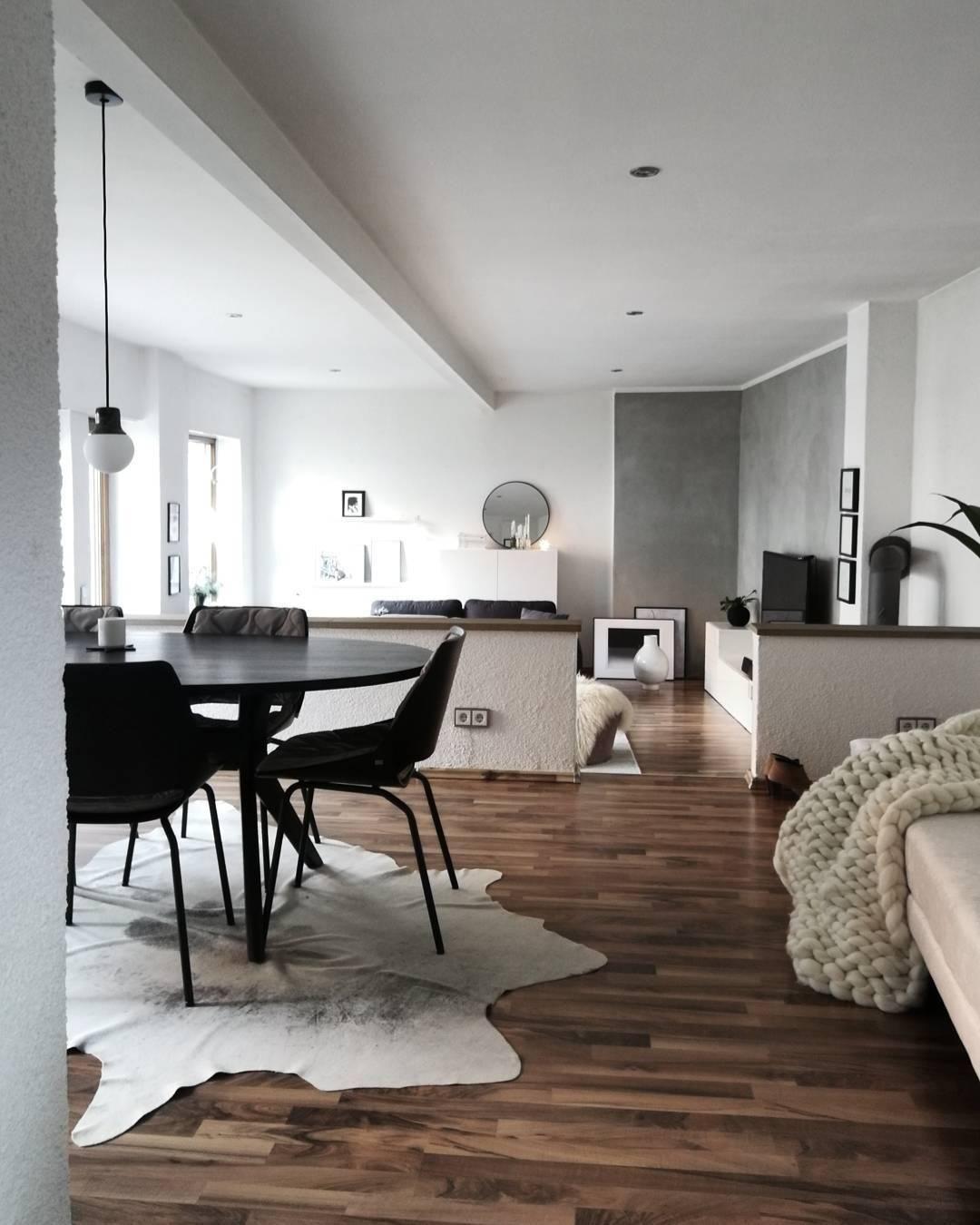 Handgefertigtes woll plaid super chunky in 2019 esszimmer - Stilreich blog ...