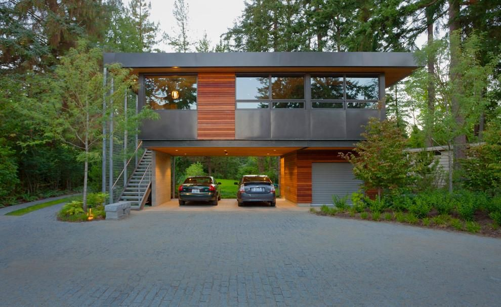 find this pin and more on minimalist modern hillside homes - Modern Hillside Homes