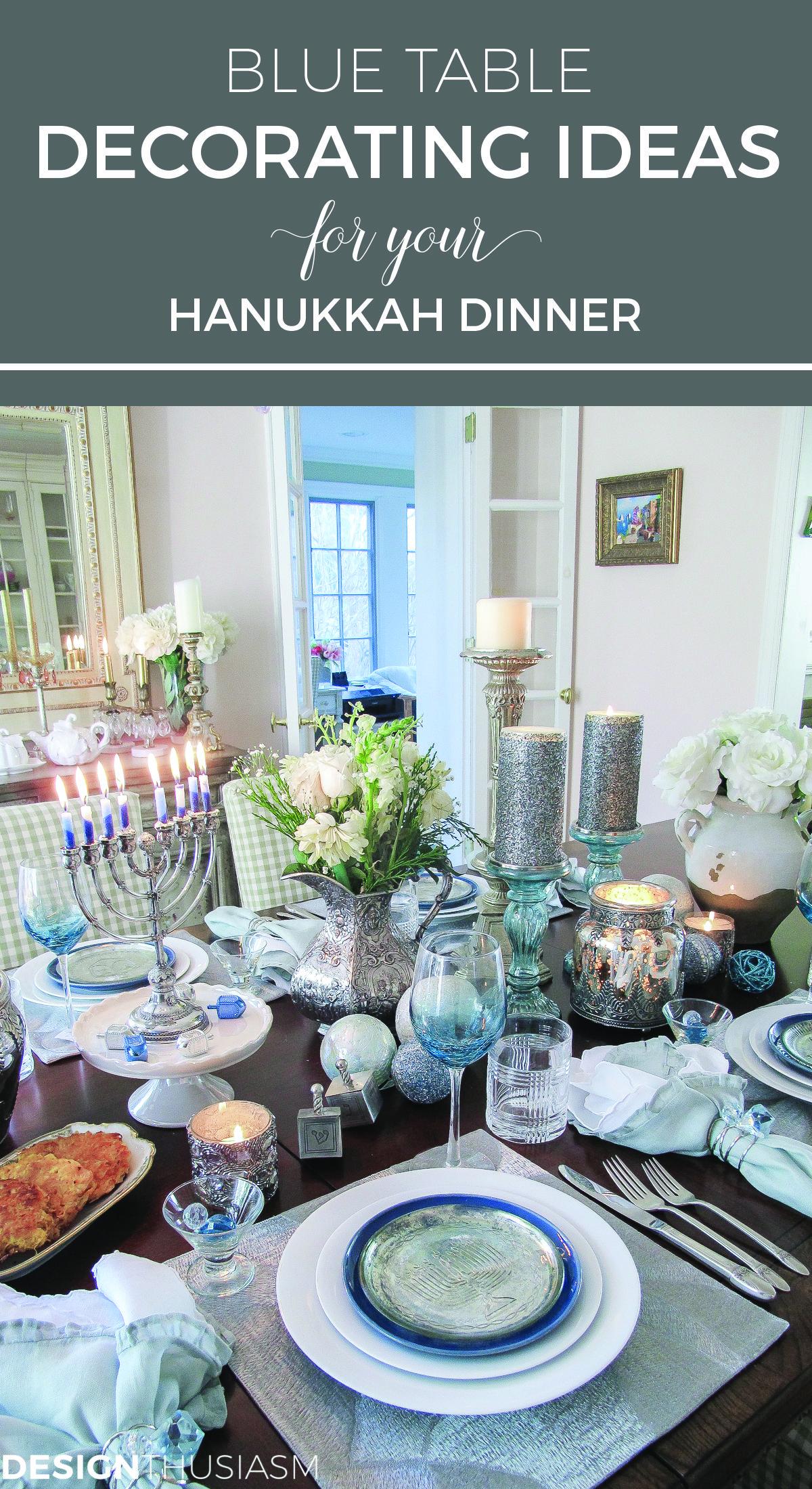 Hanukkah Table Decorations , Table Design Ideas