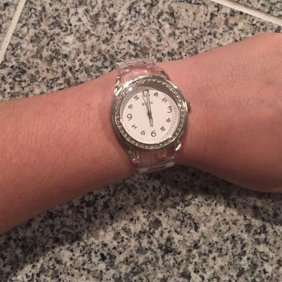 Relic Clear Plastic Watch Relic Watch Relic Jewelry