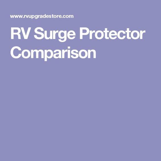 Rv Surge Protector Comparison Rv Surge Protector Surge Protector Comparison