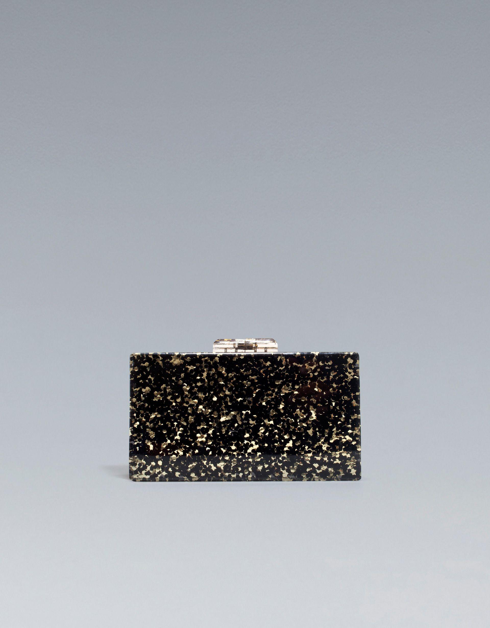 93b42b8c5 rigid evening bag | zara | Perpetual Wedding Guest | Pinterest