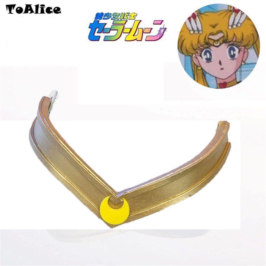 Sailor Moon Cosplay Headband Headwear Tiara Prop Costume Fancy Dress Up