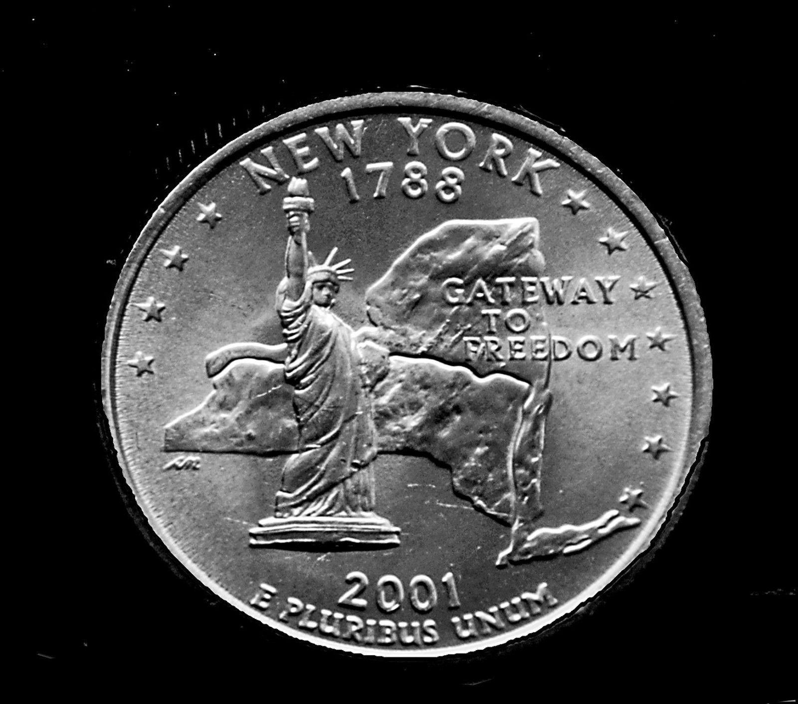BU Louisiana Purchase State Quarter 2002 P U.S Philadelphia Mint Coin
