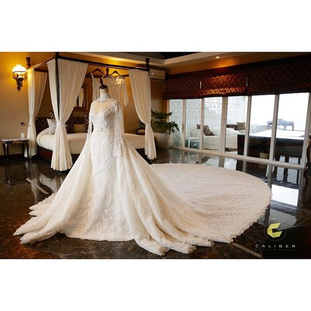 """Caliber King On Instagram: """"The Beautiful Wedding Gown By"""