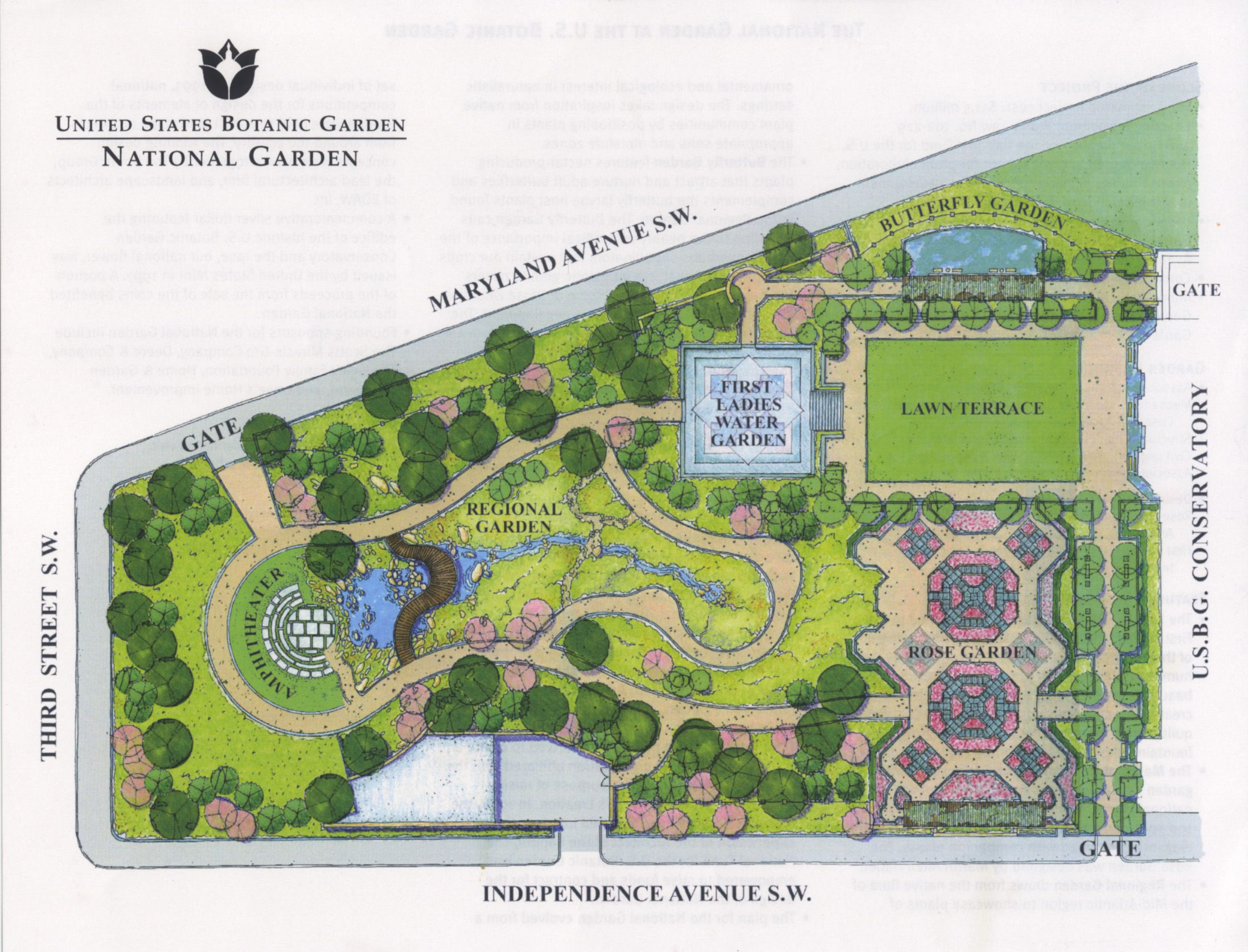 Parks john collins urban planning and master plan for Garden design map