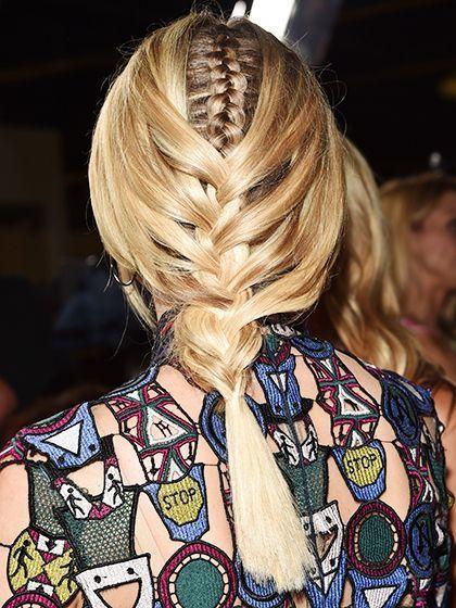 Diane Kruger's braid within braid | allure.com