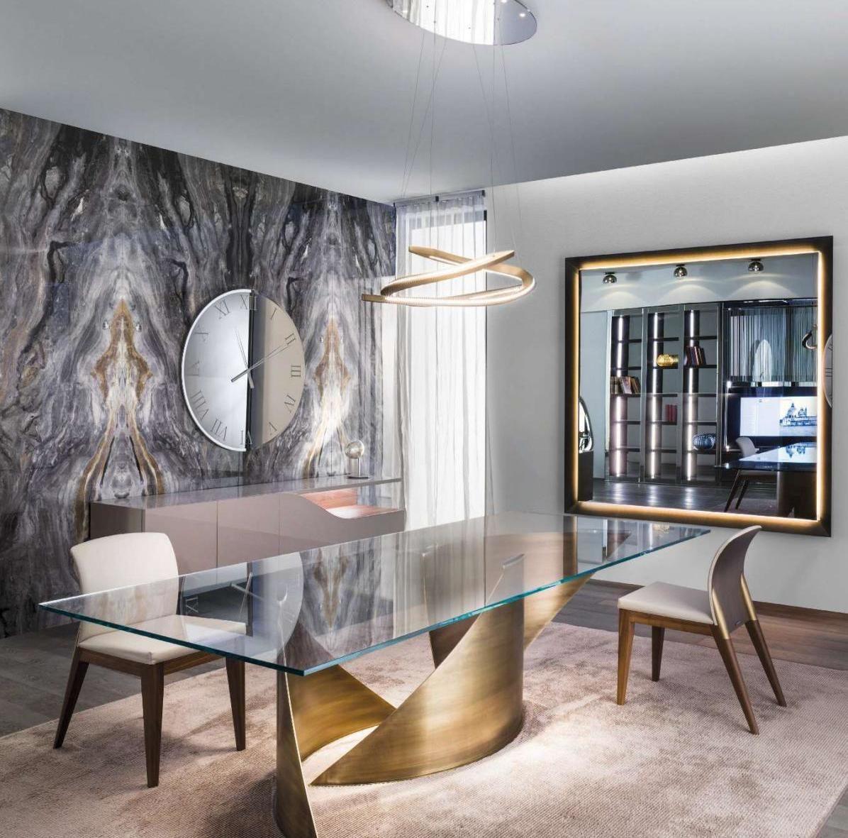 Elle Decor 9 Luxury Dining Room Dining Table Design Luxury Dining