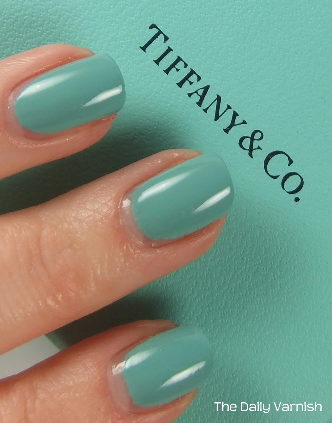 Tiffany Blue Nail Polish Opi : tiffany, polish, Tiffany, Polish, Nails,, Nails