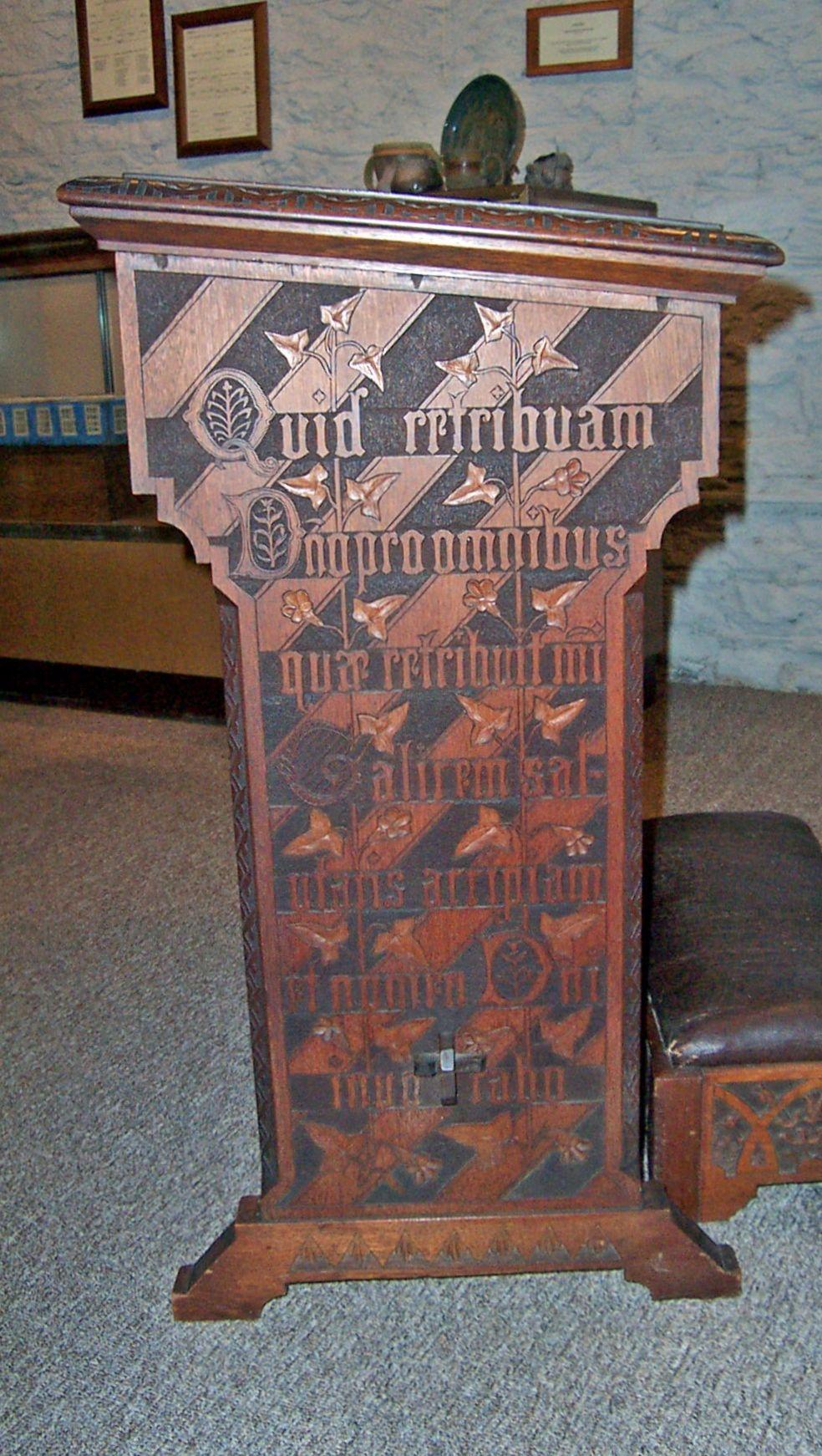 c1880 Aesthetic door, Cincinnati Art Mvt,