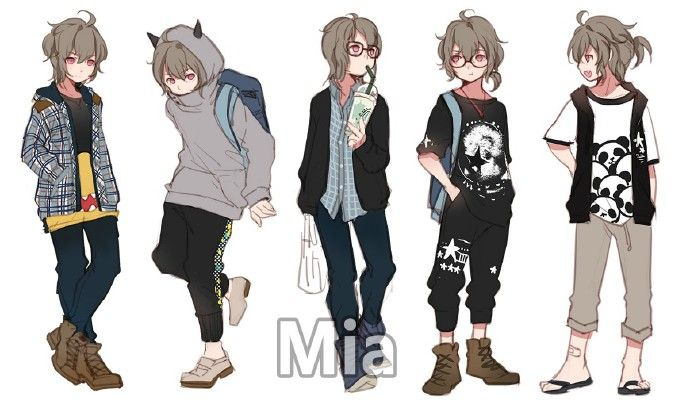 Sina Visitor System Anime Outfits Character Design Inspiration Character Outfits