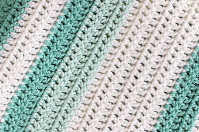 All Double Crochet Afghan   Tejido, Gorros y Manta