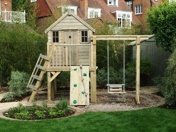la cabane de jardin pour enfant est une id e superbe pour votre jardin jardin pour enfant. Black Bedroom Furniture Sets. Home Design Ideas