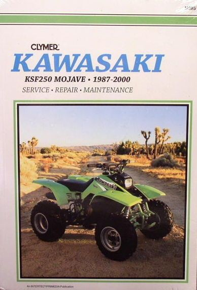 new kawasaki ksf250 250 mojave service repair manual repair manuals rh pinterest com 2001 Kawasaki Mojave 250 Specs 02 Kawasaki Mojave 250 Manual