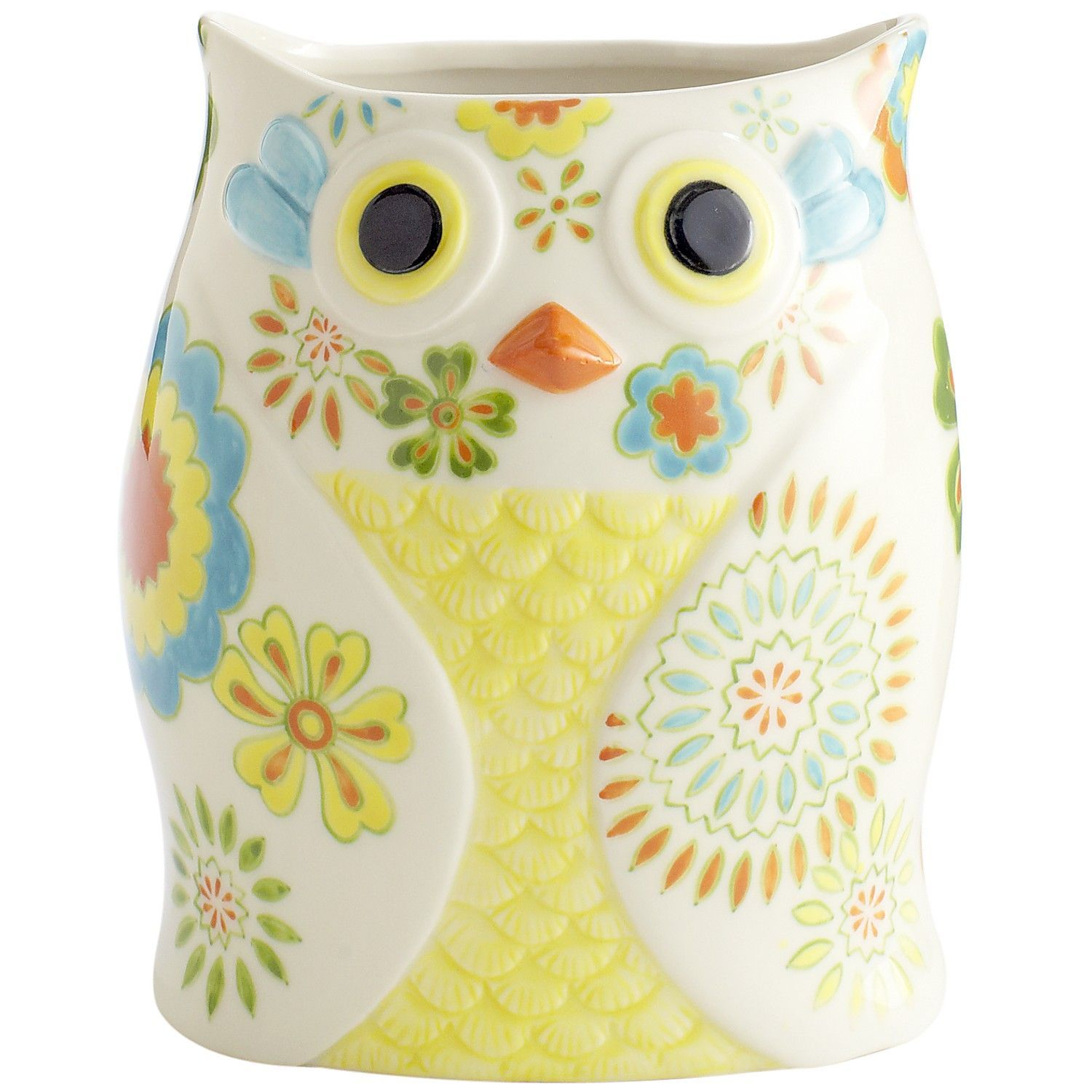 Owl Utensil Holder | Pier 1 Imports | Dream Home - Accessories ...