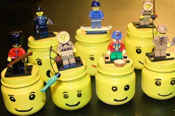 Birthday Party Craft and Party Favor Ideas | Lego head, Party favour ...