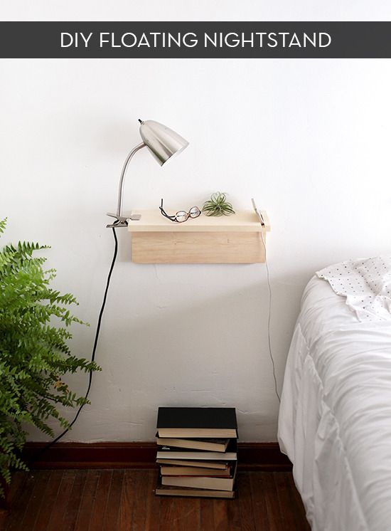 Make It Do It Yourself Floating Nightstand Interieur Diy