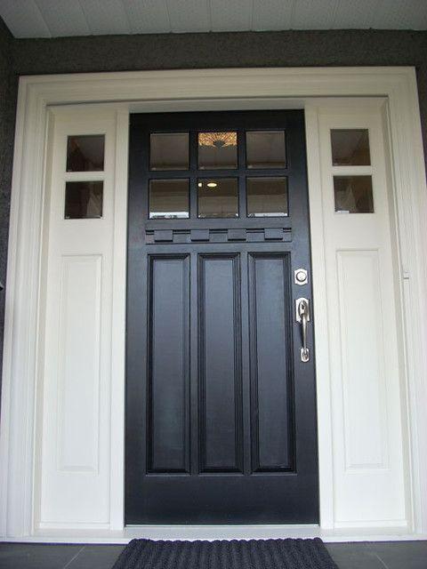 Front Door Close Up Traditional Front Doors Doors Pinterest