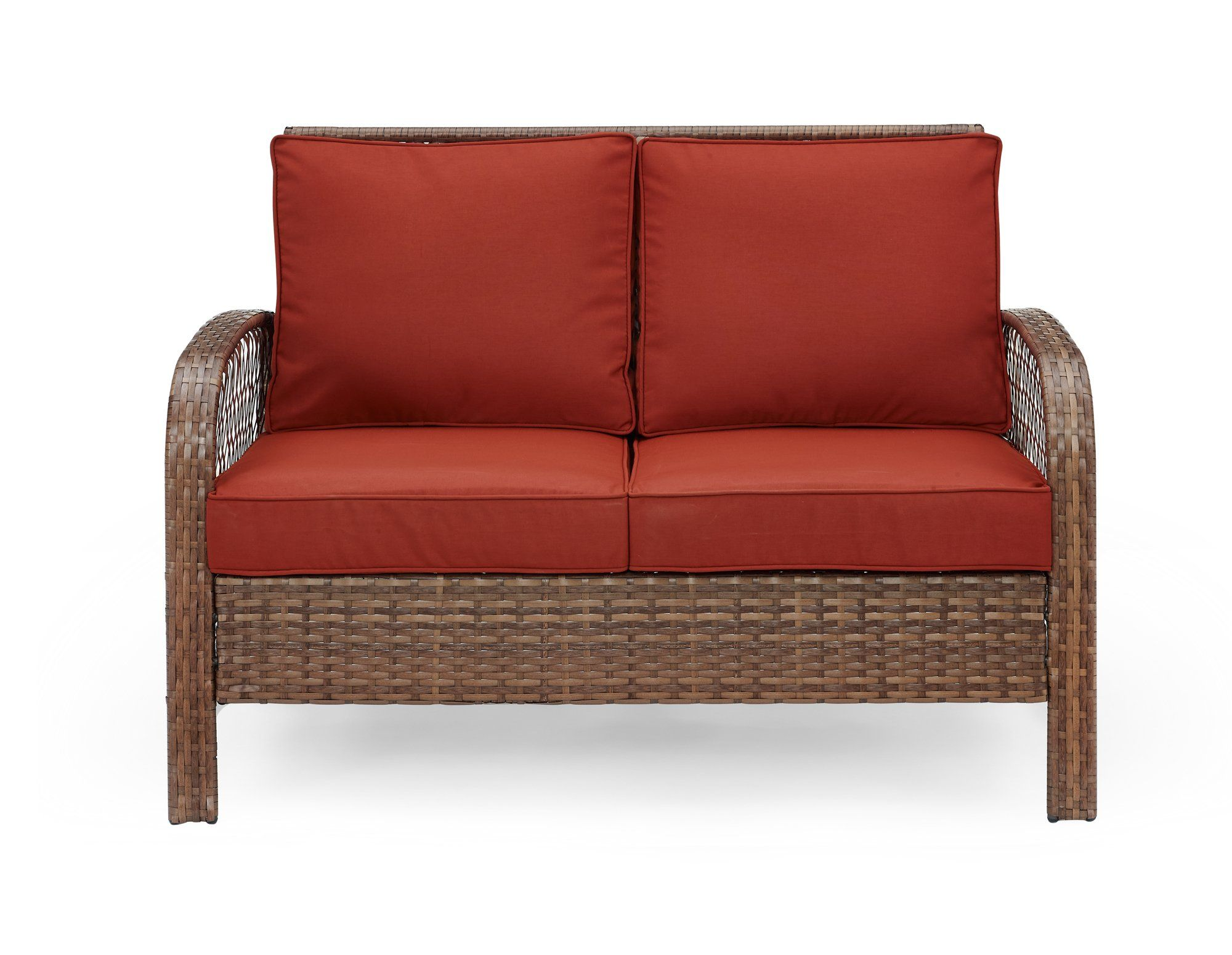 Ulax furniture piece outdoor patio deep seating group with cushion