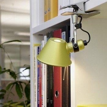 Artemide Tolomeo Pinza Clip On Light Lamp Interior Modern Interior