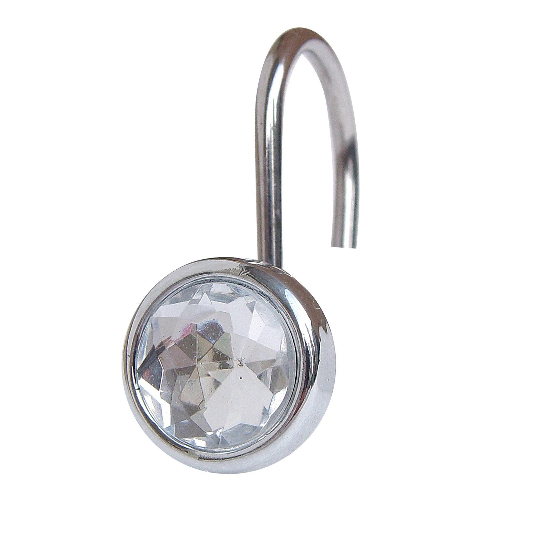 Bon Jeweled Shower Curtain Hooks
