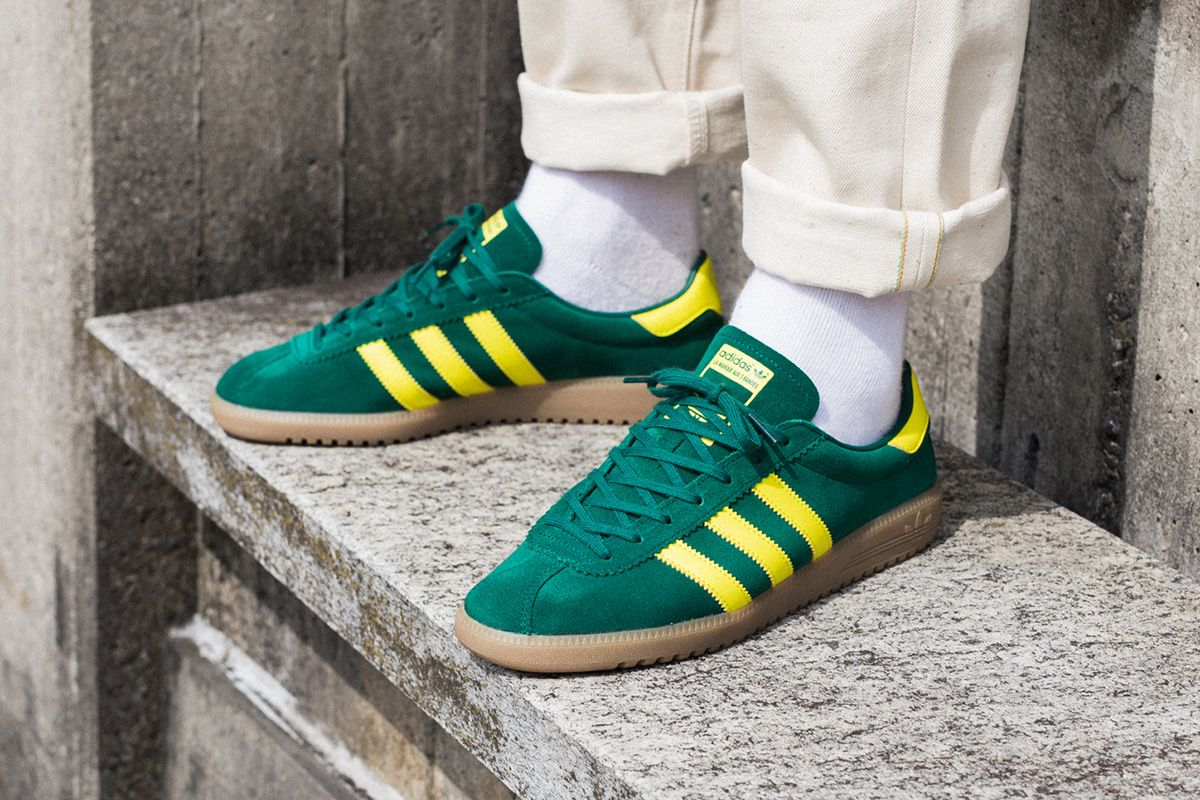 adidas Originals Bermuda  Green   Yellow  673042e00