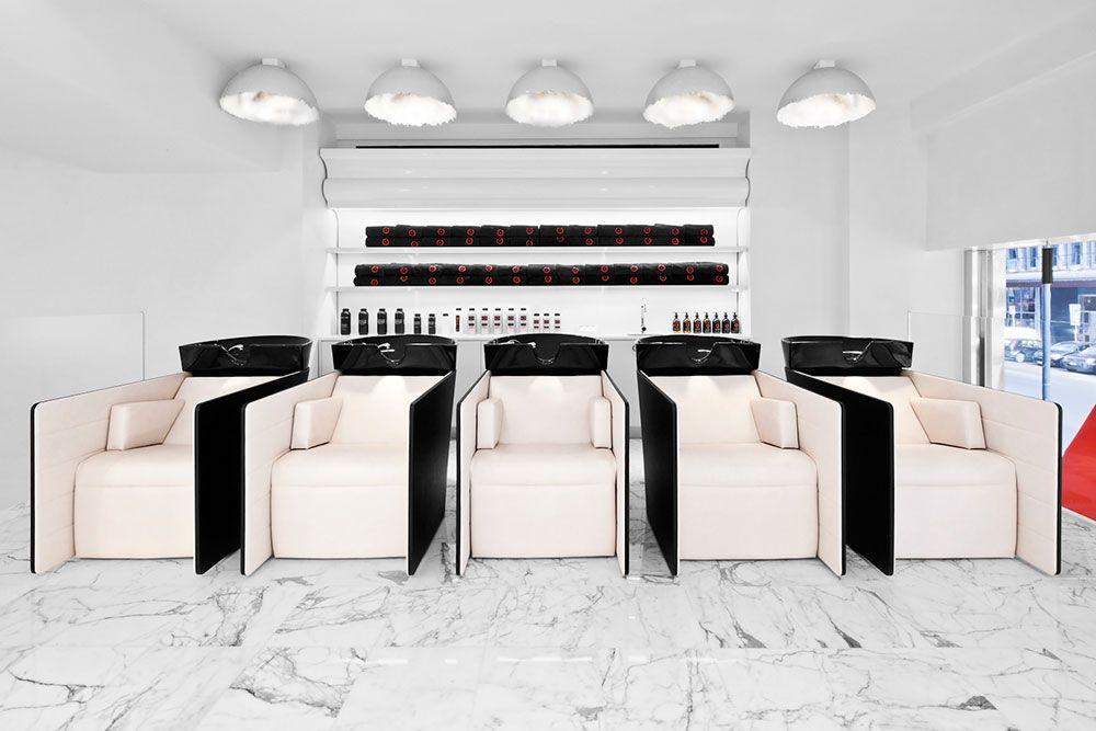 Salon Tour Milan S Coppola Salon Featuring Gamma Bross Furniture Salon Equipment Furniture Salons Salon Decor