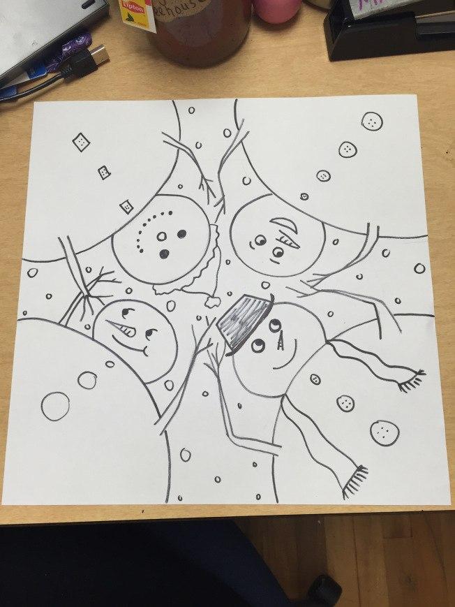 Мама маме: Снеговики веселятся!