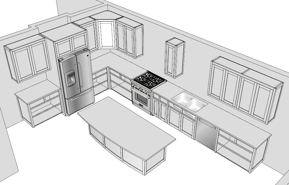 Sketchup Help 10 Faqs Popular Woodworking Magazine Kitchen Design Software Popular Woodworking Woodworking Magazine
