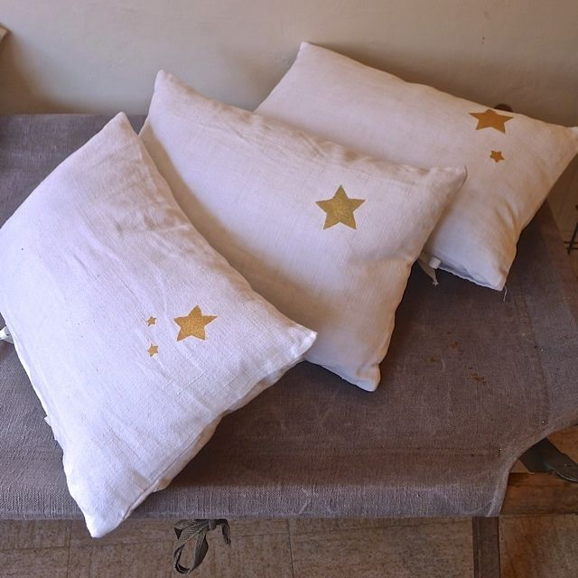 Coussin étoile Star Pillows And Shabby Best Etoile Throw Blanket