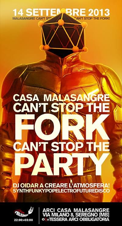 Can't stop the fork!