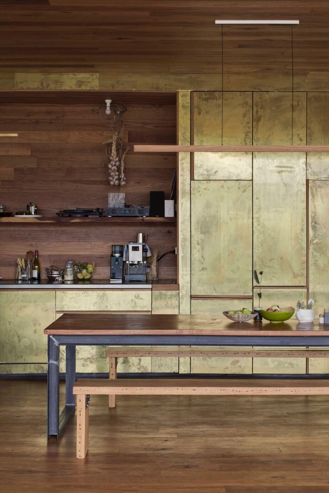 Tisch aus Holz und U-Träger | moderne Küchen | Pinterest | Tisch ...