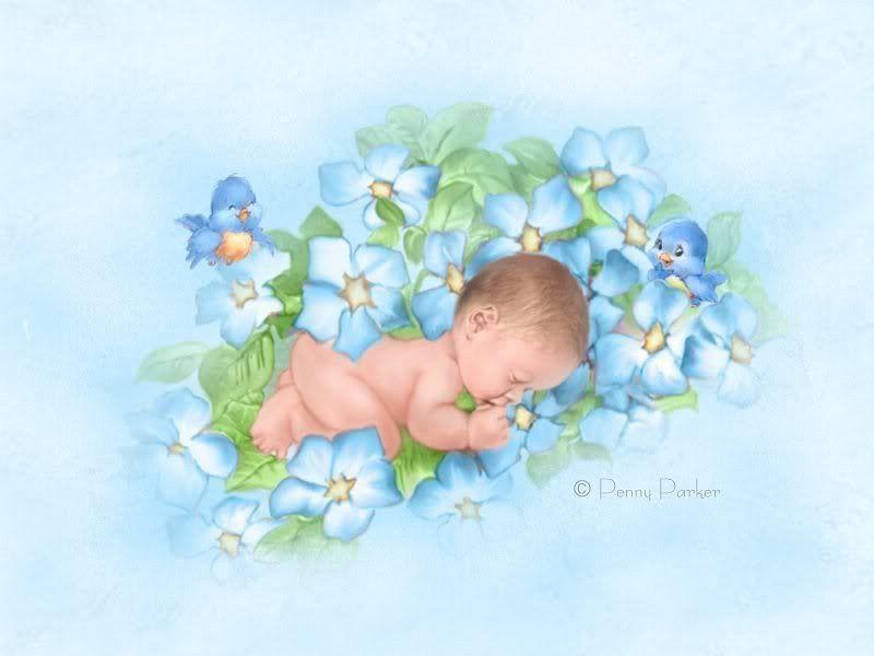 Открытки детки новорожденные