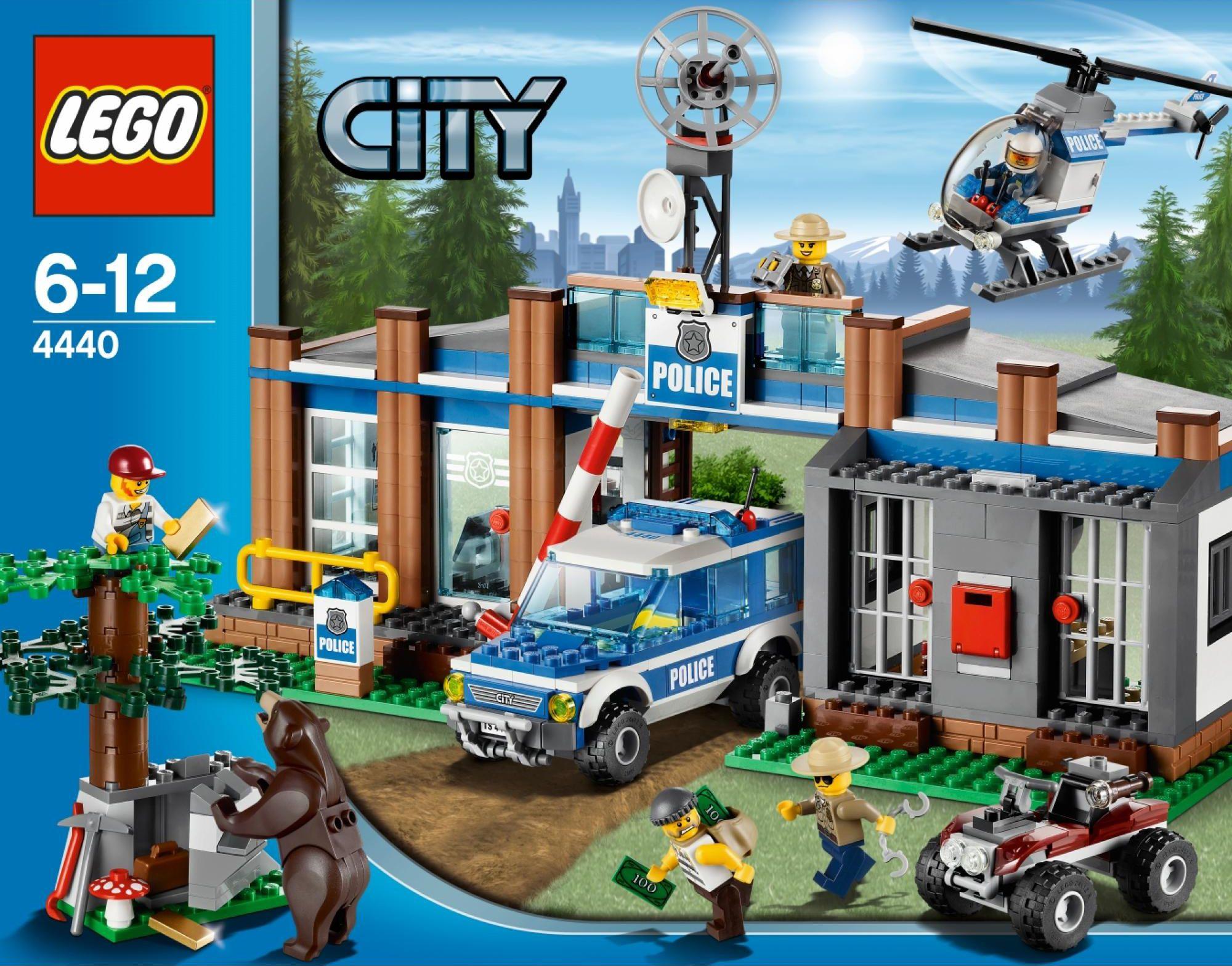 New Lego City Sets For 2012 Bears Hillbillies Lego City Police Station Lego City Sets Lego City Police