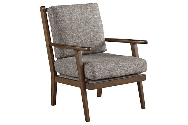 Zardoni Accent Chair Accent Chairs Charcoal Accent