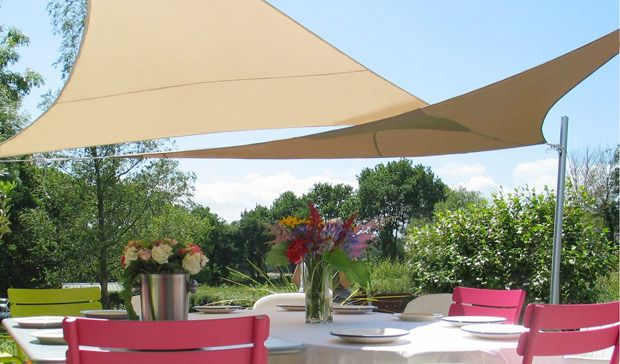 Dream backyard for Colorado shade sail
