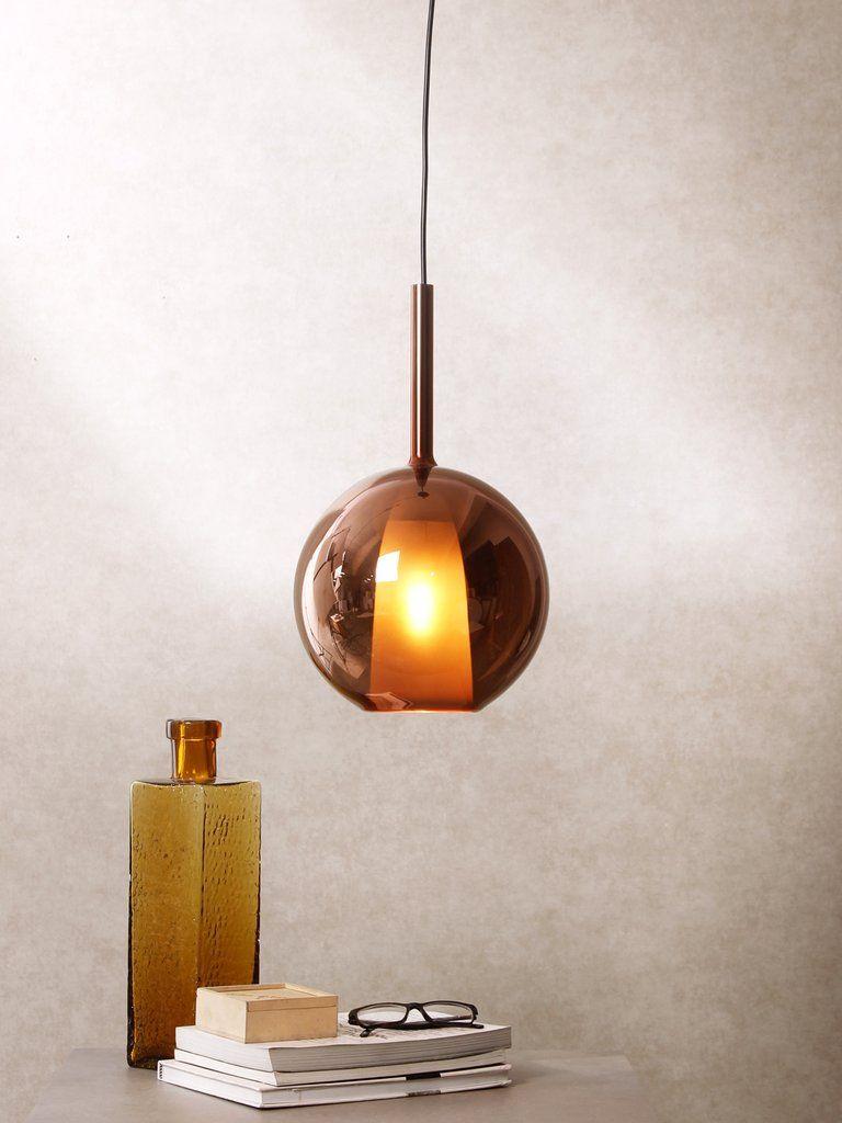 Fire grande copper contemporary pendant lamps pinterest