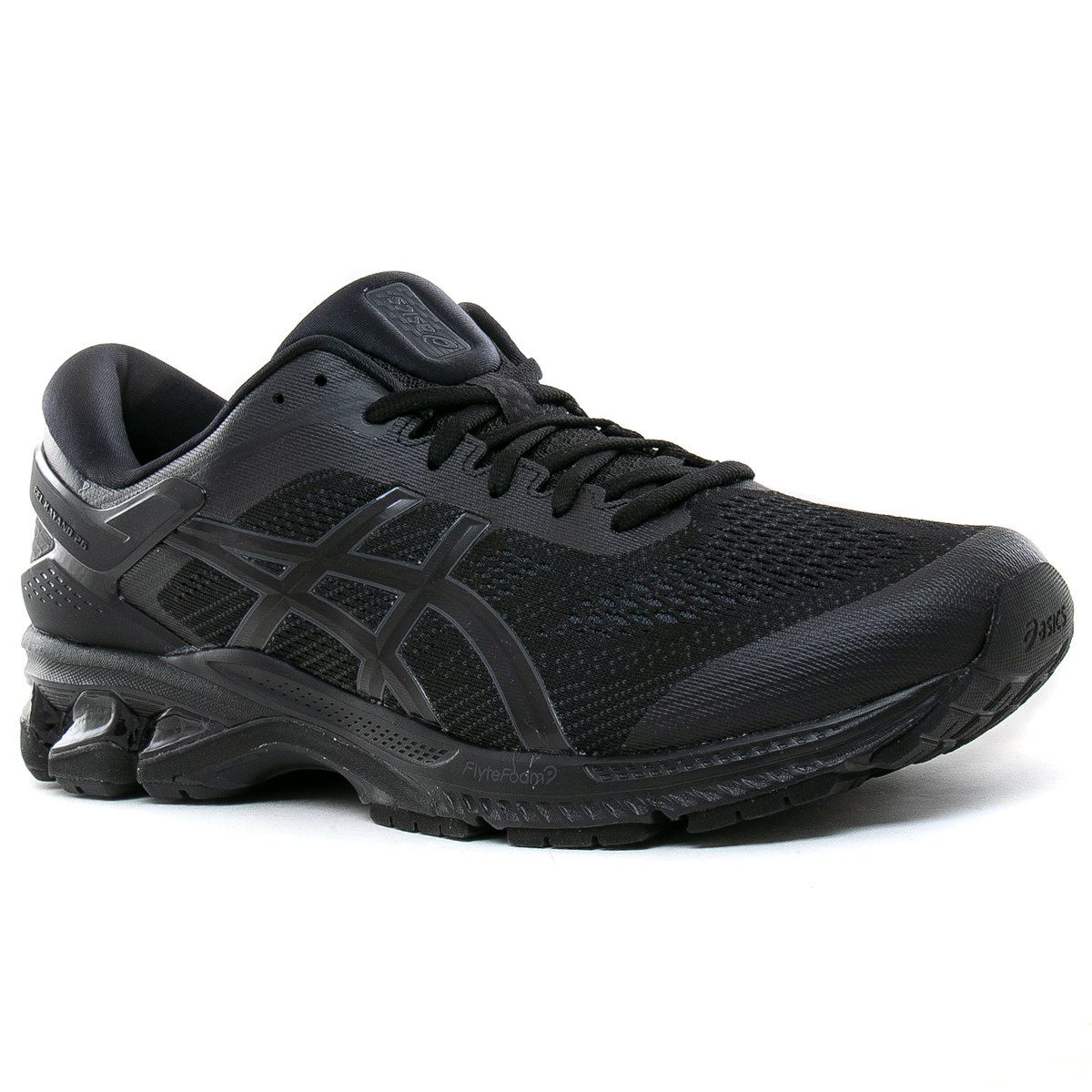 ASICS Gel-Mission Hombre Negro Exterior Andar Deporte Running Zapatos Zapatillas