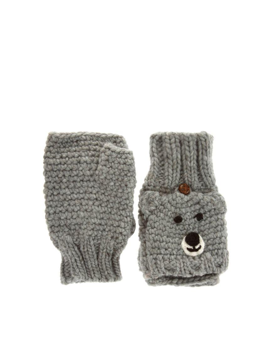 bär handschuhe   Kinder   Pinterest   Handschuh, Bären und Stricken ...