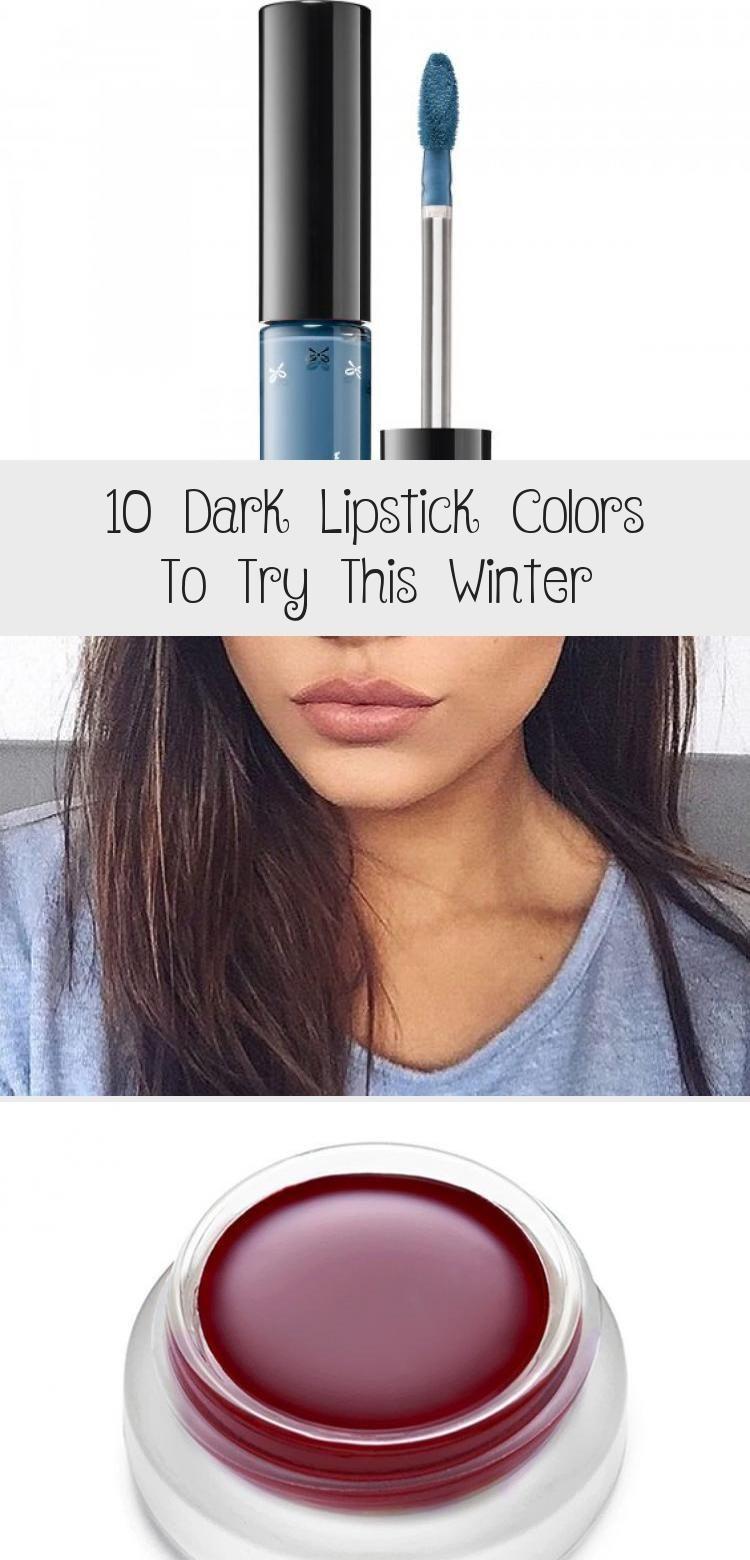 Photo of 10 Dark Lipstick Colors To Try This Winter – Makeup Beauty –  10 Dark Lipstick C…
