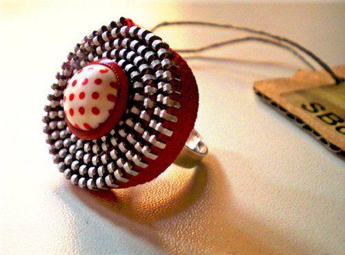 Zipper ring - Anello