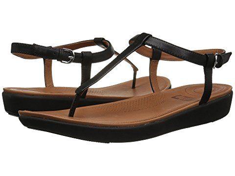 21cea6e4d90de FitFlop Tia Toe Thong Sandals at Zappos.com