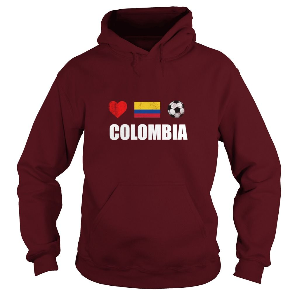 Colombia Football Colombian Soccer T-shirt - Men's Premium Hoodie ...