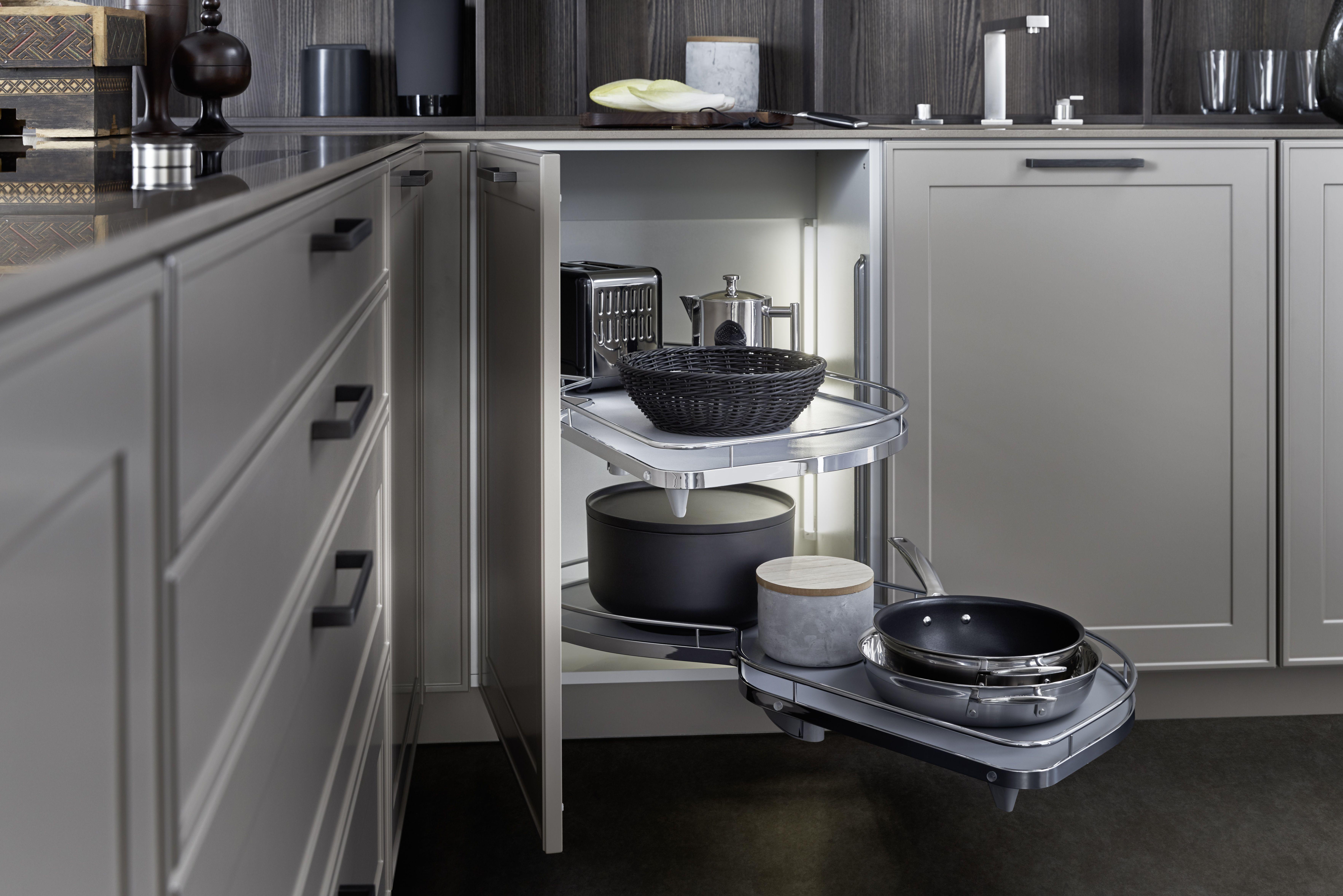 Leicht Kollektion Verve Topfaufbewahrung Landhausstil Landhauskuche Zeitlos Modern Moderne Kuchenideen Kuchen Layouts Stilvolle Kuche
