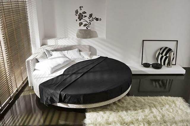 Letti Rotondi.Letti Matrimoniali Rotondi Odd Shaped Sleeping Beds Letti