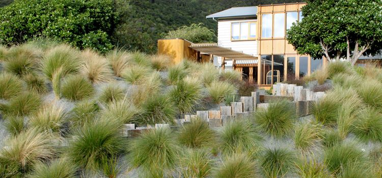 Eastbourne Coastal Garden / Moorhead And Newdick Landscape Architects  Wellington