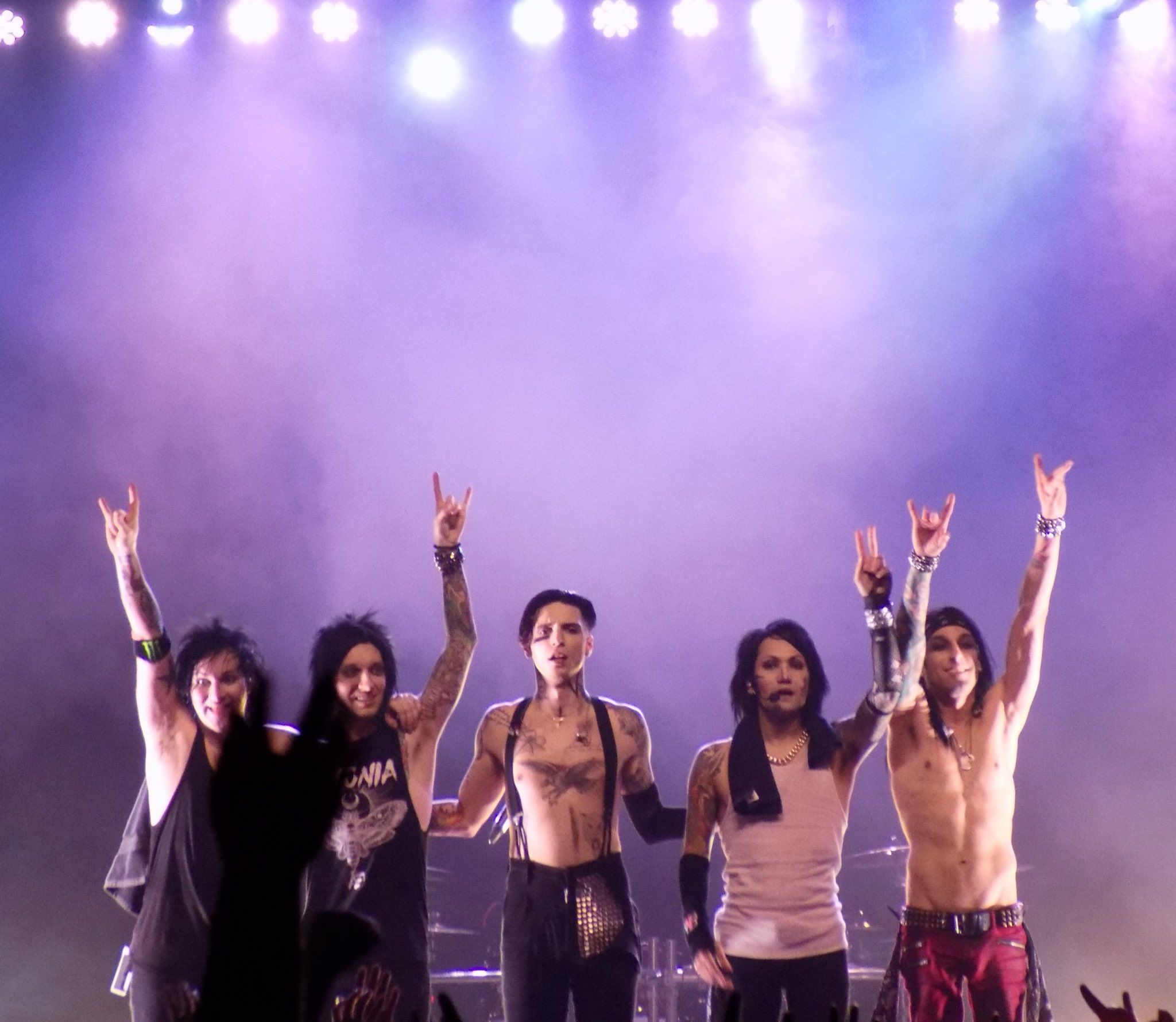 Black Veil Brides Killed It Last Night Jinxxbvb Ashleypurdy