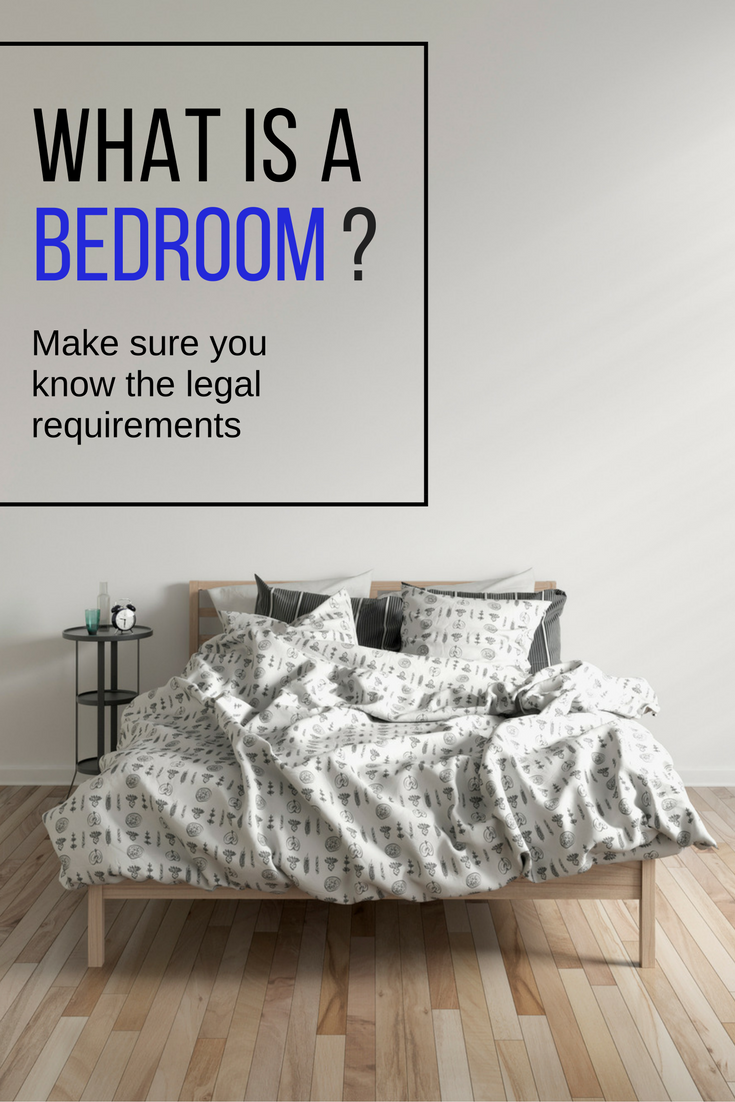 """There are a number of details that make a room a """"bedroom""""—and both home buyers and sellers had best know them to avoid misunderstandings. Here are 6 features that define a bedroom."""